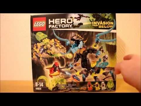 LEGO Hero Factory 44029: Королева Монстров против Фурно, Эво и Стормера