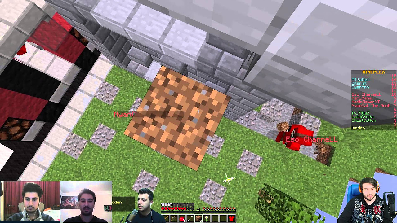 Minecraft Micro Battle - Youtuberler Kapışması