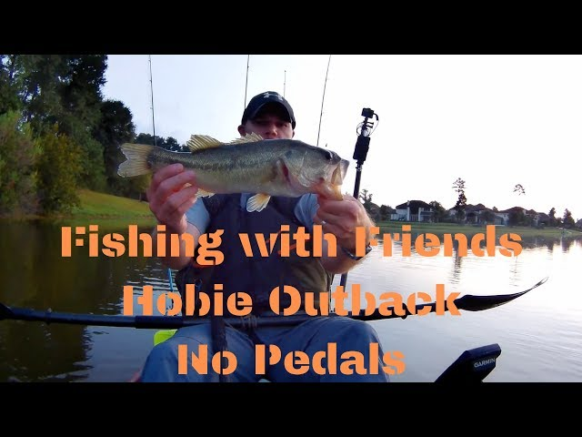 Lake Paloma Kayak Fishing with Friends | Hobie Outback No Pedals