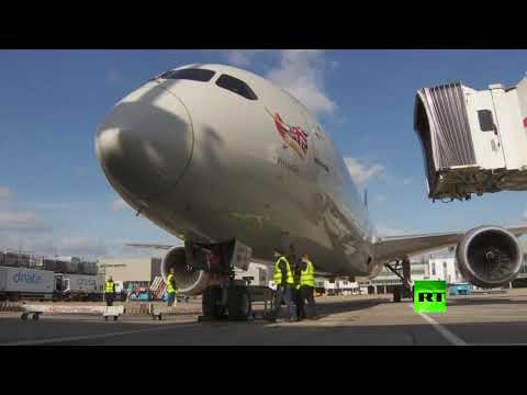 طائرة بريطانية تنقل أطنانا من المعدات الصينية إلى لندن  - نشر قبل 3 ساعة