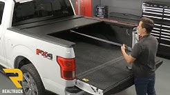 How to Install Truck Covers USA American Roll Cover Matte Black on a 2018 Ford F-150