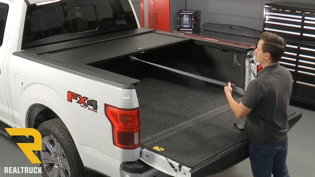How To Install Truck Covers Usa American Roll Cover Matte Black On A 2018 Ford F 150 Youtube