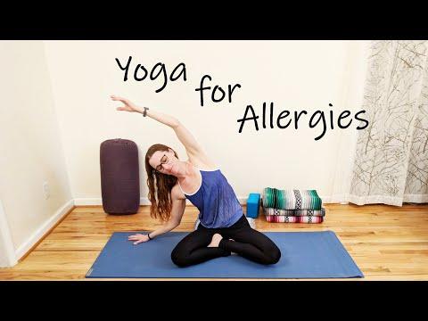 Gentle Yoga for Allergies