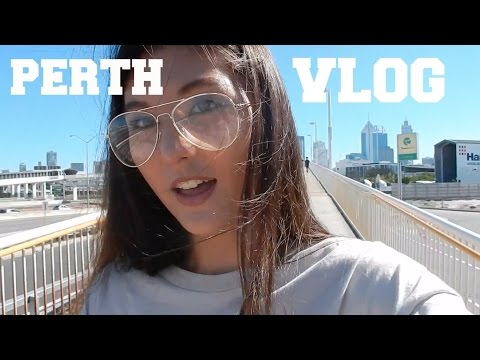 PERTH VLOG // PURPOSE TOUR, PERTH CITY