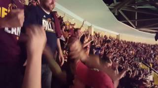 Final minute and aftermath of 2016 NBA Finals - Cavs Watch Party