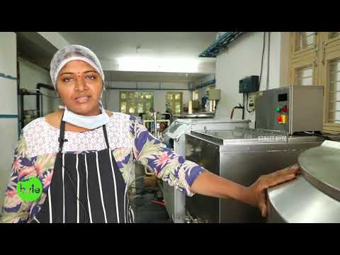 ICE CREAM MAKING In BULK | BUTTER SCOTCH | PLUM CAKE ICE CREAM