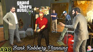 Bank robbery planning in GTA V…