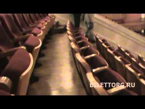 Театр Росс. Армии схема зала амфитеатр обзор зала