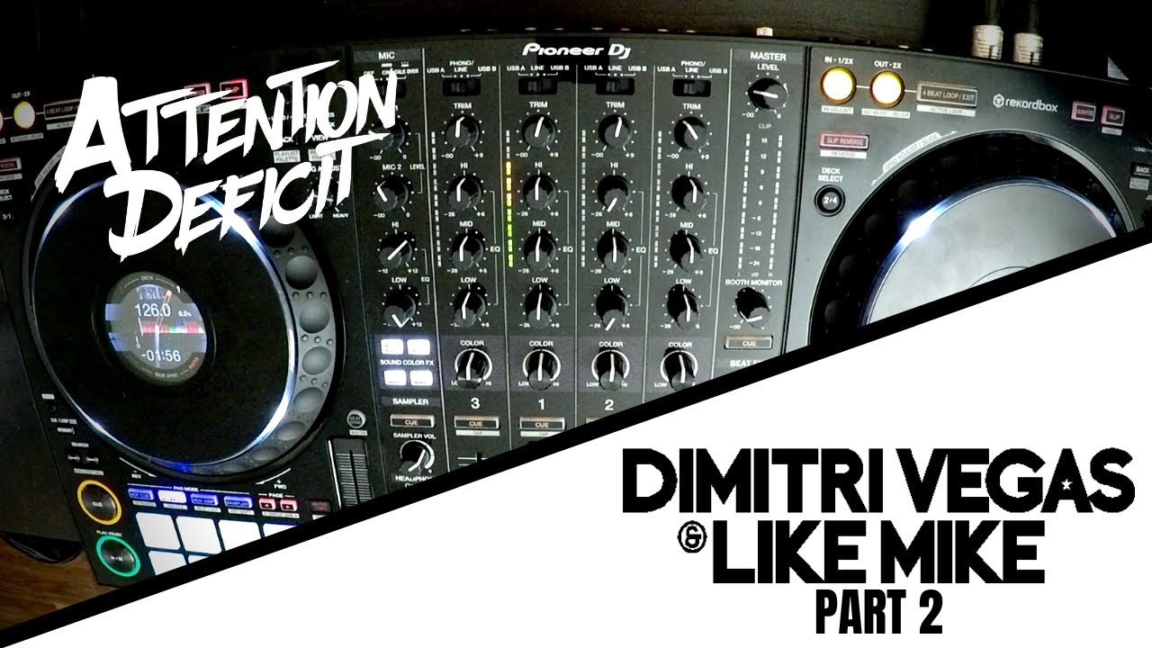 Dimitri Vegas & Like Mike Live Mix 2019 | PART 2 | Pioneer DDJ-1000