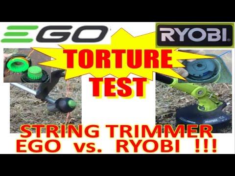 Ryobi 40 Volt Attachment Capable Cordless String Trimm