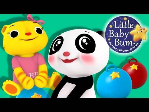Boing Boing Bounce Bounce | Nursery Rhymes | Original Song By LittleBabyBum!