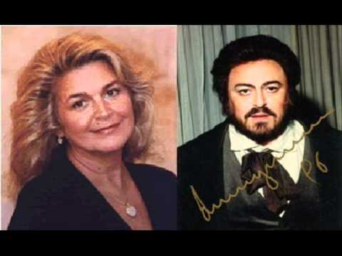 "Luciano Pavarotti & Gabriela Beňačková-""O soave fanciulla..."", La Boheme, Giacomo Puccini"