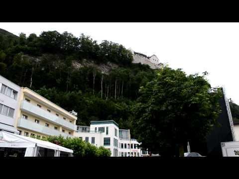 アキーラさん散策②リヒテンシュタイン・ファドゥーツ市街Vaduz,Liechtenstein