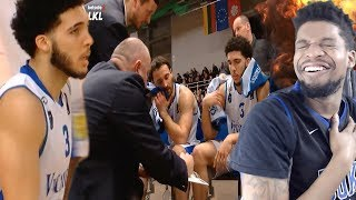 LIANGELO GOES TO WORK WITH LAMELO & LAVAR WATCHING!