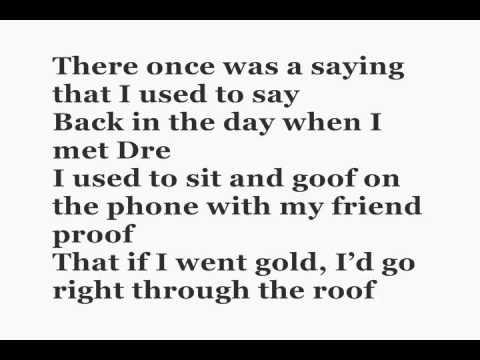 Eminem - Elevator Lyrics