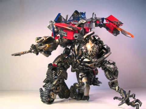 Custom painted Optimus Prime - YouTube
