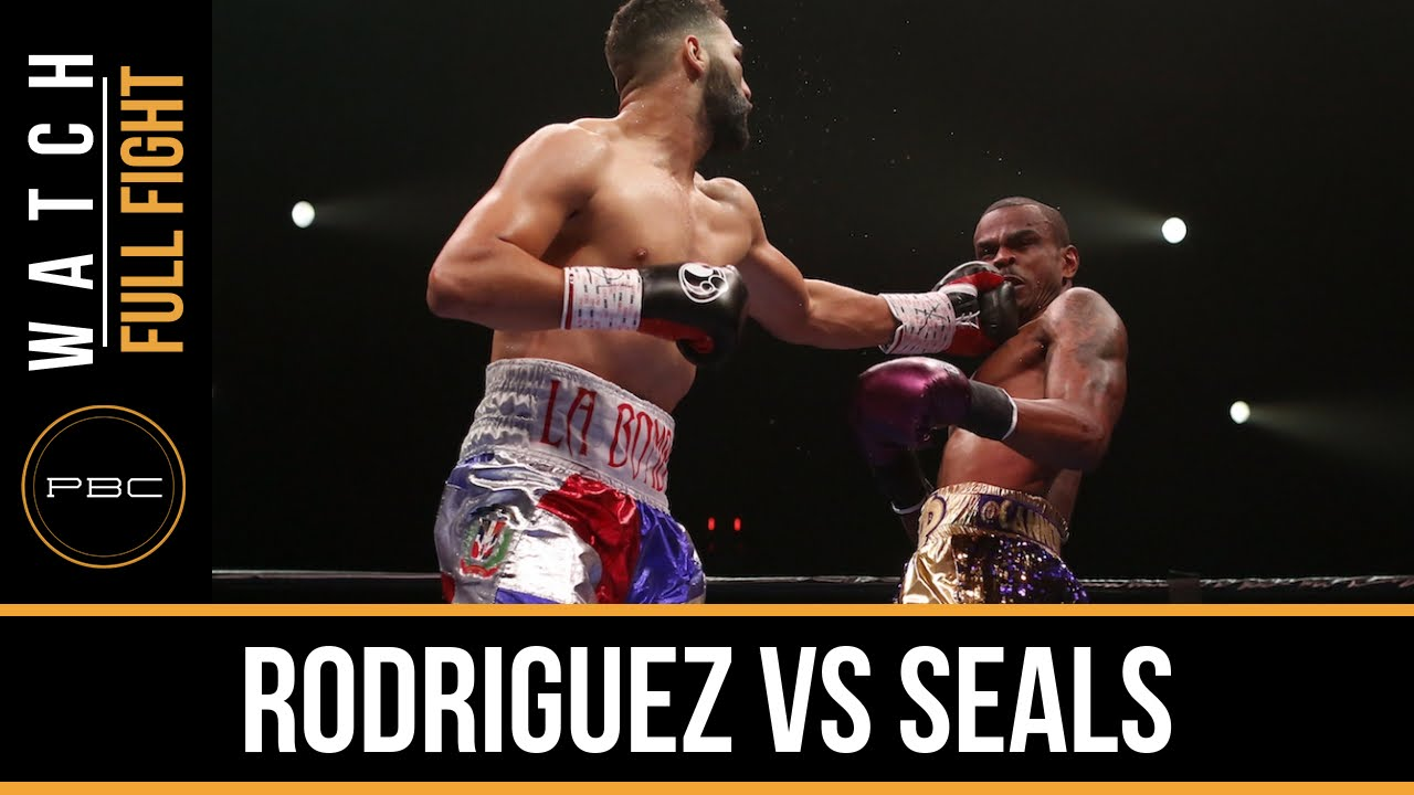Rodriguez vs Seals FULL FIGHT: November 13, 2015 - PBC on Spike