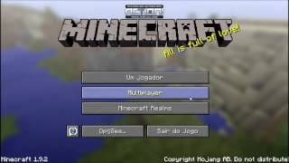 Tutorial - Como jogar Minecraft no PC