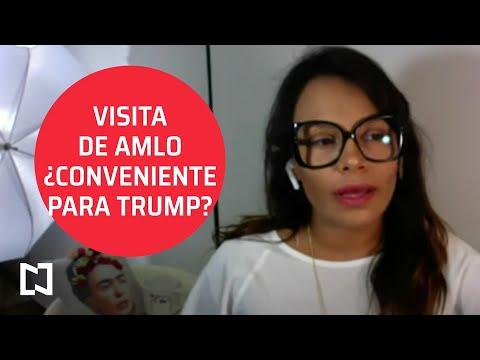 ¿Le conviene a Trump la visita de AMLO?