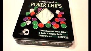 Видео-Обзор на Покерный набор (2 колоды карт, 100 фишек)