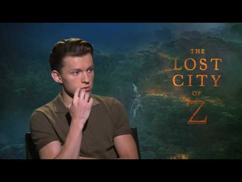 "Tom Holland Talks ""The Lost City of Z"" and ""Spider-Man: Homecoming"""
