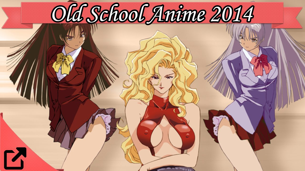 Top 20 Old School Anime 2014 All The Time