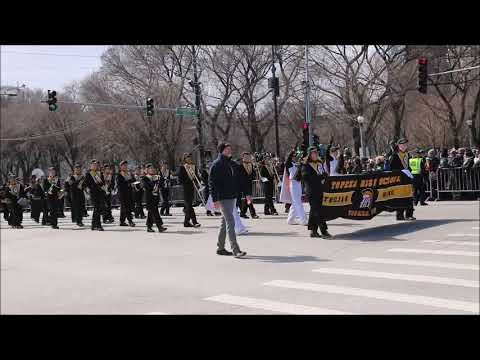 Topeka High School Trojan Band  ,Chicago 03.17.2018