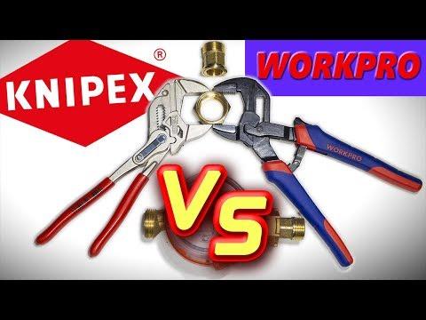 Разводной переставной гаечный ключ Workpro с Aliexpress - почти аналог Knipex