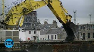 LEBIH TINGGI DARI GEDUNG ! Inilah Excavator & Alat Berat Terbesar di Dunia !