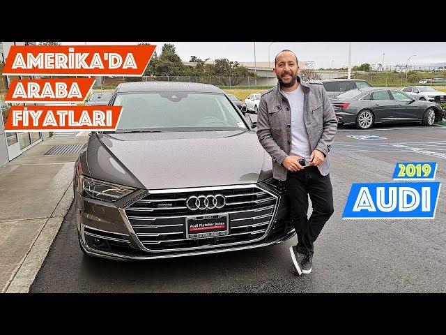 Amerikada Araba Fiyatları: Audi 2019