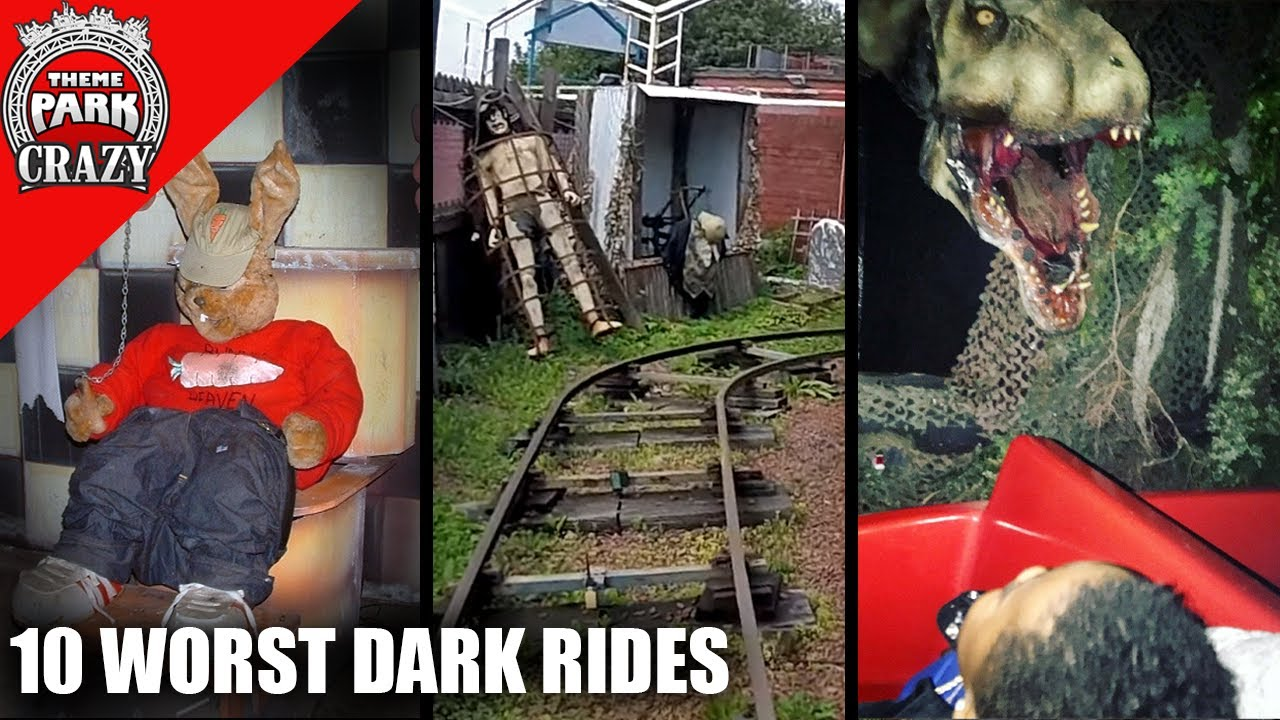 Top 10 WORST Dark Rides EVER