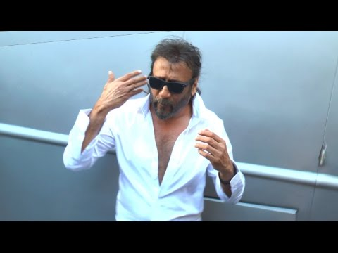 Jackie Shroff's FUNNY Interview Outside His Make Up Van