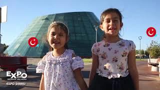 Expo da Çocuklar ile İstiklal Marşı