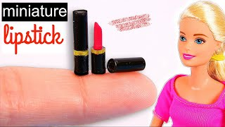 DIY Miniature Lipstick [REALLY WORKS]