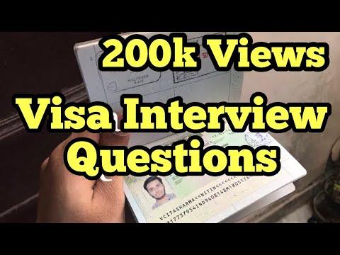 Schengen Visa Interview Questions