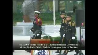 DeKalb County Hosts 9/11 Remembrance Ceremony. thumbnail