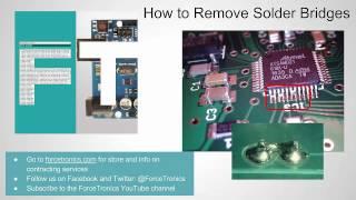 How to Remove SoĮder Bridges