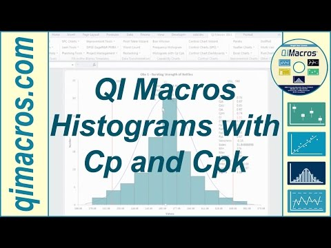 Create a Histogram in Excel with Process Capability Metrics