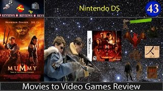 Movies to Video Games Review -- The Mummy: Tomb of the Dragon Emperor (NDS)