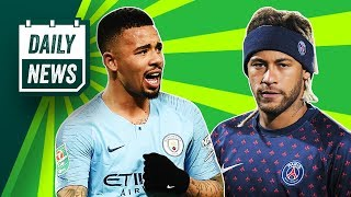 Man City 9-0 Burton, PSG lose to the worst team + Carrasco to Arsenal ► Onefootball Daily News
