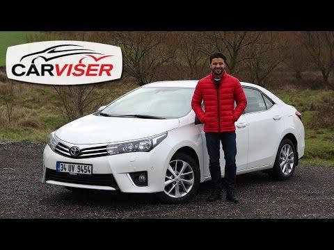 Toyota Corolla Test Sürüşü