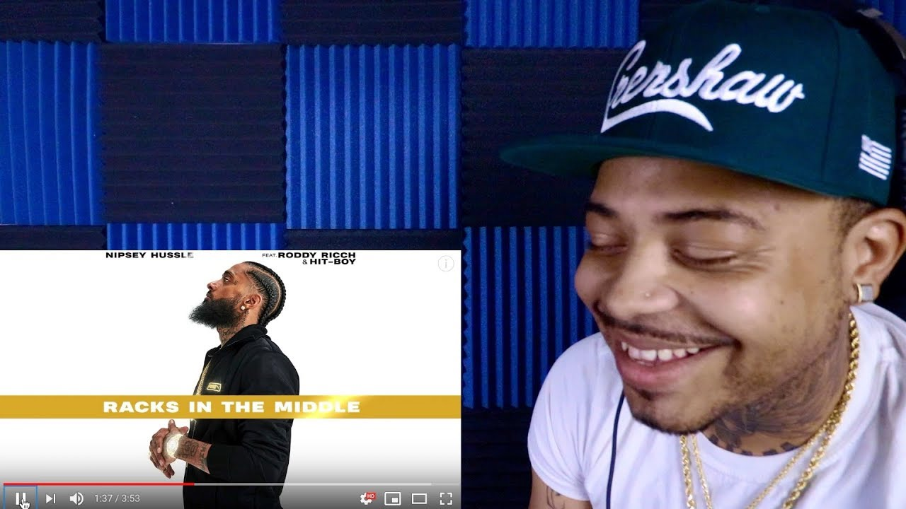 Nipsey Hussle x Roddy Ricch Racks In The Middle REACTION