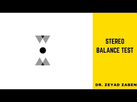 Stereo Balance Test (Stereopsis)