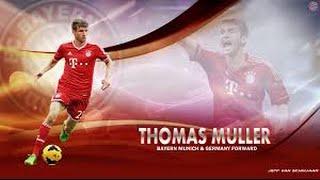 "Thomas Muller ""The Smart Forward "" 2014/2015/2016 Highlights"
