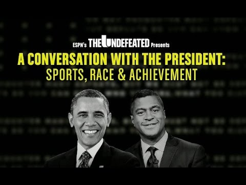 A Conversation With The President: Sports, Race & Achievement (FULL)