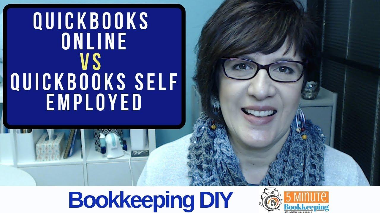 QuickBooks Online vs QuickBooks Self Employed