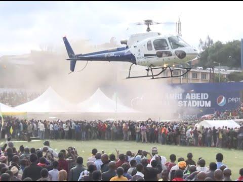 Lowassa alivyowasili mbele ya maelfu ya Watanzania Arusha