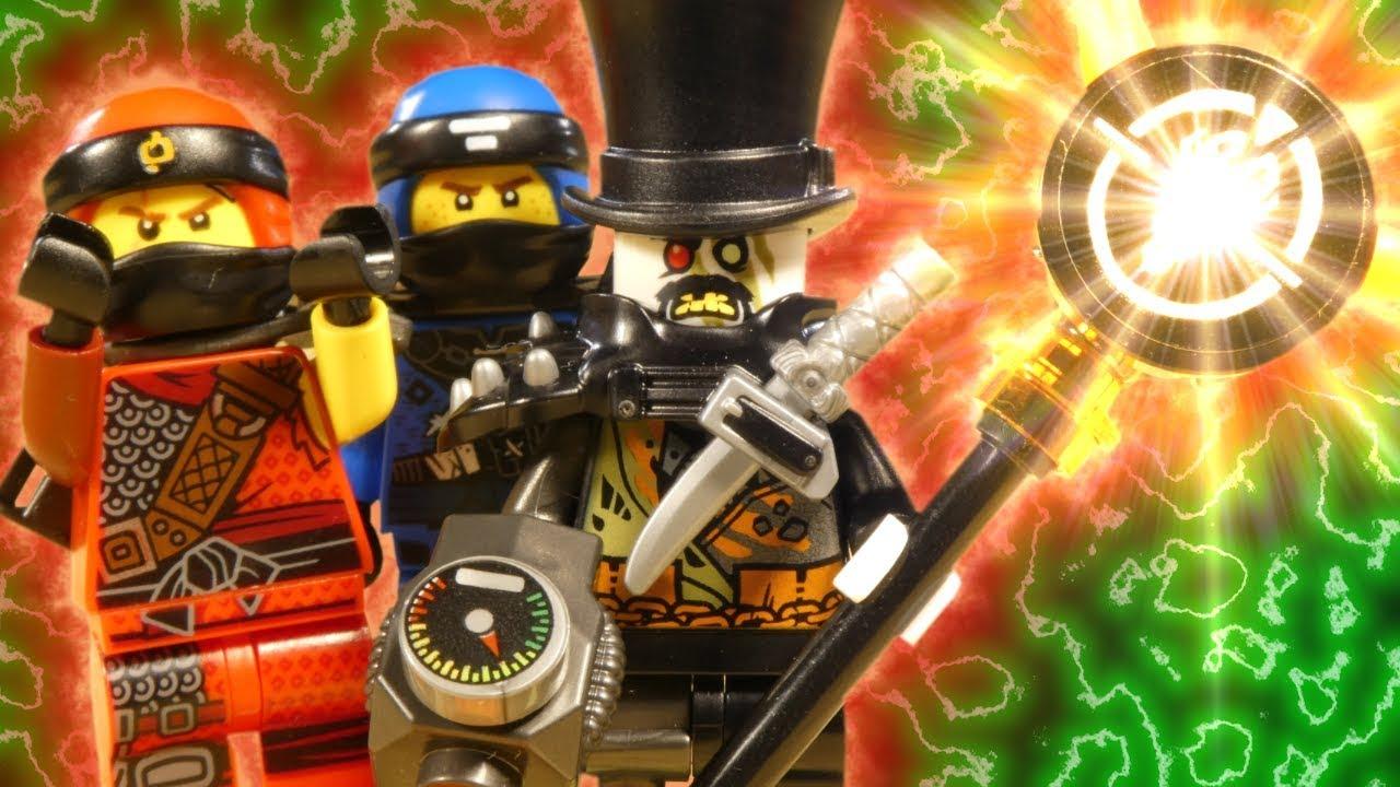 LEGO NINJAGO HUNTED - IRON BARRON ATTACK