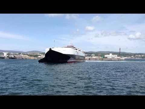 Manannan in Douglas harbour