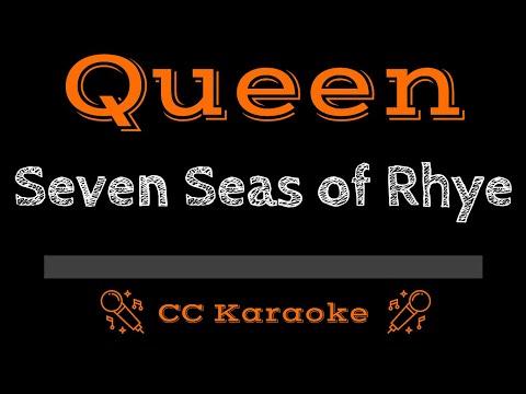 Queen • Seven Seas Of Rhye (CC) [Karaoke Instrumental Lyrics]